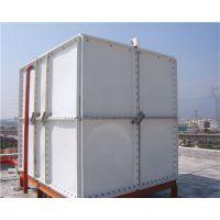 河北淮方玻璃钢水箱 方形储水 保温 模压成形 SMC 家用型 工业用 质量保证