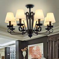 华高域灯饰餐厅灯简约中式客厅卧室吊灯具
