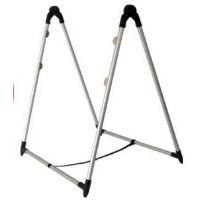 恒祺晟荧光板专用支架 折叠V型不锈钢支架40*60 发光黑板广告展示架金属材料