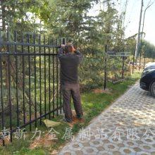 定制热镀锌 铁艺锌钢护栏 小区园林围墙栏 防爬防盗别墅锌钢隔离栅 河南新力