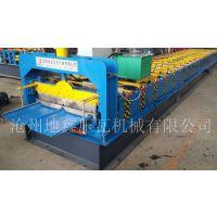 75-380-760型号角驰压型钢板机设备 地鑫760角驰压瓦机