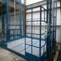 导轨式升降货梯 厂房 室内 室外 装卸货物固定式家用升降货梯