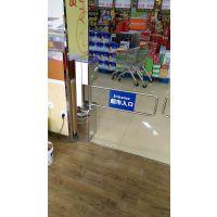 咸宁_超市入口自动感应门价格_不锈钢摆闸远韬厂家