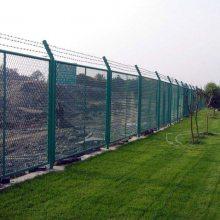 体育场设施围栏 花都绿化草坪电焊护栏 深圳建筑工地烧焊栏杆批发