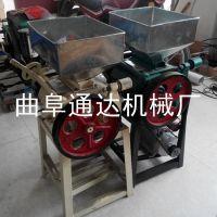 通达生产 大小型黄豆压扁机 粮食加工挤扁机 商用榨油扎扁机