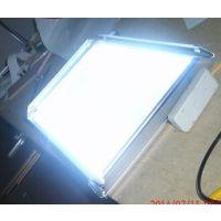 锦诺led超薄灯箱定做单面铝型材开启式边框室内广告牌可定制