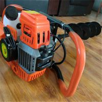 汽油栽树挖坑机小型 便携式手提挖坑机 多用途多规格厂家直销