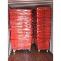 常德300L服装印染周转箱 优质塑料方箱