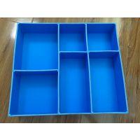 东莞正美供应茂名 pp发泡板组装式周转箱 塑料实心隔板箱 PP发泡刀卡料盒