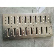 新云 厂家直销热镀锌钢格栅板 不锈钢齿形沟盖 厨房下水道专用钢格板