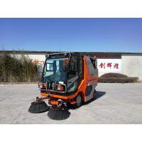 威海多功能小型扫路机生产厂家-同辉汽车--柴油1800mm扫地机
