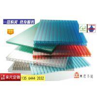 恩施12mm阳光板价格铝合金压条耐力板雨棚量大从优典晨品牌