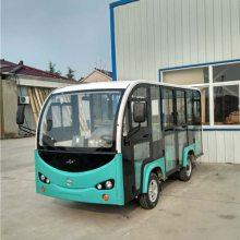 上海欢乐谷5座带门不带门电动观光车,景区旅游电瓶车