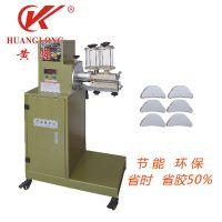 鞋机设备厂家 温州黄龙供应HL-326-1型低温热熔胶片专用双面过胶机