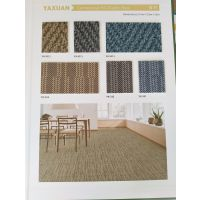 PVC塑料弹性地板 地毯纹卷材雅轩 上海厂家直销