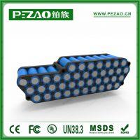 铂族 锂电自行车电池组/助力车锂电池组 36V/48V 8.8Ah 18650锂电池组