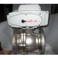 河南远东Q941F-16P不锈钢电动球阀