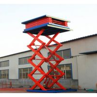 220v电源升降货梯定做 家用固定式升降台 航天厂家