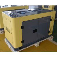 睿德R292双缸风冷柴油发电机组 12KW风冷柴油发电机组 15HP静音三相黄灰