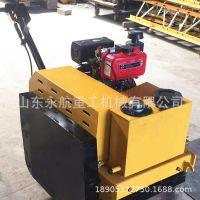 热卖3吨激振力压路 小型座驾压路机自重1吨驾驶型双钢轮压路机