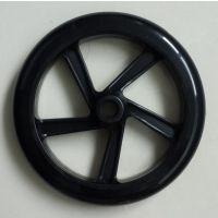直销弹性耐磨耐用1.5,2,3,4,5,6、7、8、9、10寸聚氨酯PU静音脚轮、医疗轮椅轮