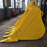 挖掘机重载岩石挖斗 挖机神钢240加强岩石斗广西挖斗生产厂家