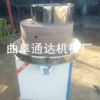 磨芝麻酱的小型机器 通达 火锅店麻汁石磨机 保定芝麻酱机器