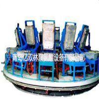 亿双林供应气动圆型转盘式生产线 硅胶坐垫自动转盘生产线