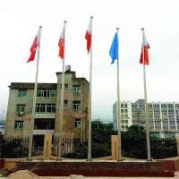 耀恒 泰安岱岳区手置一体式旗杆生产厂家ZS9-6