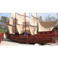 殿宝大型装饰海盗船 地中海帆船酒店价格及图片