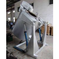 倾斜式熔铝炉 广东熔铝电阻炉 铝合金溶解保温炉
