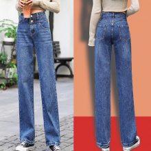 韩版小脚女式牛仔裤批发 春款女装弹力牛仔裤