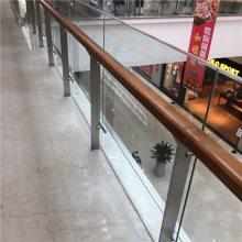 金裕 供应酒店宾馆商场机场房地产开发商楼梯不锈钢玻璃护栏工程立柱
