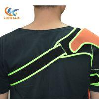 运动护臂 健身保暖透气海绵单肩加压SBR面料护肩 东莞越康运动护具生产厂家