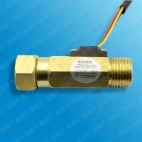 SAIER赛盛尔大批量生产销售4分尼龙霍尔流量传感器 工业级流量传感器带温控
