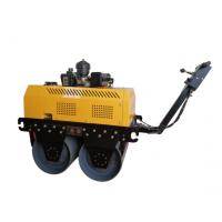 克勒斯手扶式重型双轮压路机配备高精度带座向心球轴承,双向液压行走动力惊艳