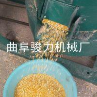 骏力牌 新型商用谷子碾米机 立式砂辊脱皮碾米机 小米去皮机 视频