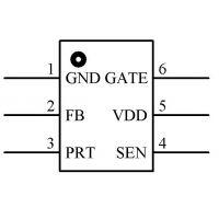 供应茂捷六级恒流电源驱动M6362A替换国产品牌IC