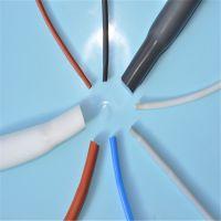 厂家直销 热收缩硅胶管 耐高温硅橡胶热缩套管 0.8~30mm