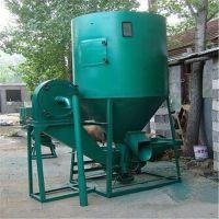 自吸上料粉碎搅拌机 徐州鸡饲料混料罐 时产2000公斤颗粒搅拌机