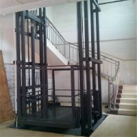 供应河南导轨式升降货梯 洛阳升降平台 液压式登车桥