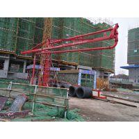 江苏太仓天旺HG18型高楼全轴承双回转浇筑布料机操作灵活