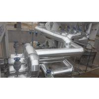 电厂管道包铁皮保温施工 大型罐体铁皮保温施工