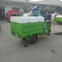 小型电动三轮挂桶式垃圾车垃圾收集保洁车小型垃圾车厂家直销