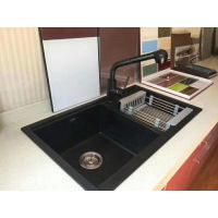 花岗石水槽、豪华厨柜花岗石水槽、广东花岗石水槽,刮不花免维护