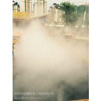 四川成都重庆园林景观雾化景区人工造雾设备雾森设计安装工程