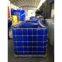 攀枝花带铁架塑料吨桶 1000L塑料大水桶