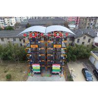 九路泊车pcx型立体车库项目—移动式充电桩垂直循环立体车库