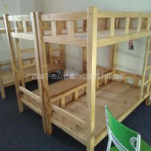 贵港木床厂家直销 贵港宿舍实木床多少钱