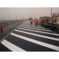 广东茂名公路划线?马路热熔划线价位,高州公路标志牌制作安装